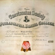 Image of Garretsonian Society Certificate