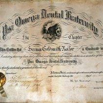 Image of FIC09.204.7 - Certificate, Achievement