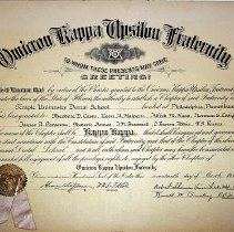 Image of 1940.204.8 - Certificate, Achievement
