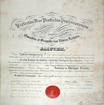 Image of Norman S. Essig Diploma from Univeristy of Pennsylvania