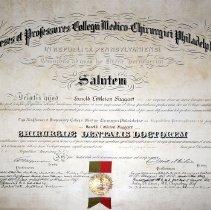 Image of Harold L. Faggart's Diploma - 1912