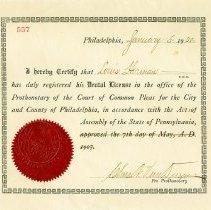 Image of FIC09.212.4 - Certificate, Achievement