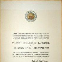 Image of 1970.200.2 - Certificate, Achievement