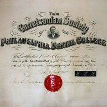 Image of FIC09.204.16 - Certificate, Achievement