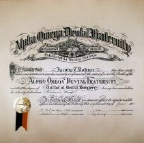 Image of 1970.200.1 - Certificate, Achievement