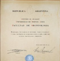 Image of FIC09.208.2 - Certificate, Achievement