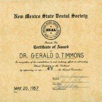 Image of FIC09.208.21 - Certificate, Achievement