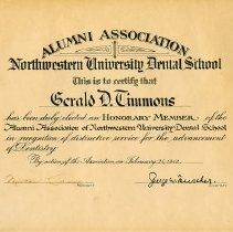 Image of FIC09.208.26 - Certificate, Achievement