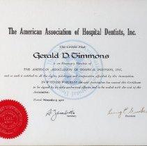 Image of FIC09.208.42 - Certificate, Membership