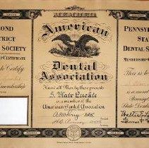 Image of 1944.210.2 - Certificate, Achievement