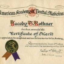 Image of 1970.200.11 - Certificate, Achievement