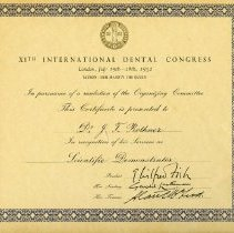 Image of 1970.200.8 - Certificate, Achievement