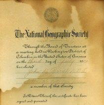Image of FIC10.201.4 - Certificate, Membership