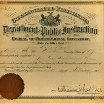 Image of High School Diploma for John D. Barab