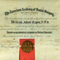 Image of FIC10.202.13 - Certificate, Membership