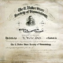 Image of The R. Walter Starr Society of Stomotology