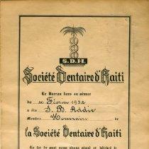 Image of FIC10.202.4 - Certificate, Membership