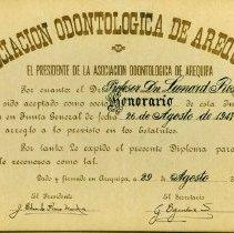 Image of FIC10.204.2 - Certificate, Membership