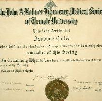 Image of FIC10.207.2 - Certificate, Membership