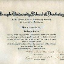 Image of FIC10.207.4 - Certificate, Membership