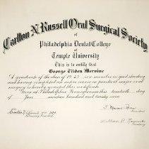 Image of FIC10.208.4 - Certificate, Achievement