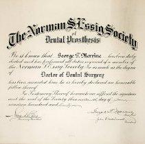 Image of FIC10.208.5 - Certificate, Achievement
