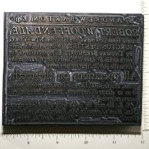 Image of Printing Block