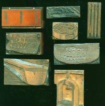 Image of Printing Plates/Blocks (26) - Detail