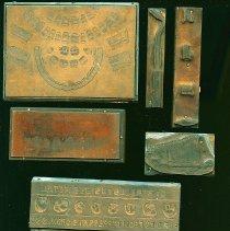 Image of Print Plates/Blocks (26) - Detail