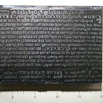 Image of FIC10.7.34 - Block, Printing