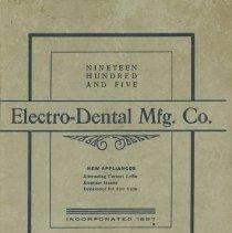 Image of FIC11.503.4 - Catalog, Dental Supply
