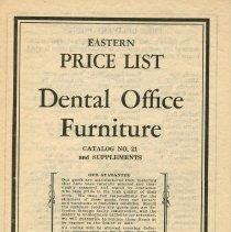Image of FIC11.503.5 - Catalog, Dental Supply