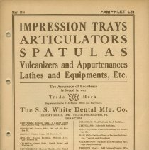 Image of FIC11.6.19 - Catalog, Dental Supply