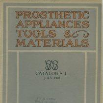 Image of FIC11.6.35 - Catalog, Dental Supply