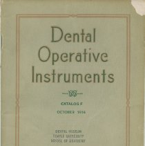 Image of FIC11.6.59 - Catalog, Dental Supply