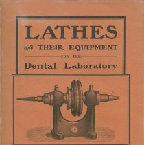 Image of S.S. White Dental Supply Catalog: Lathes and their Equipment for the Dental