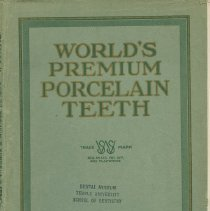 Image of FIC11.6.79 - Catalog, Dental Product