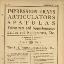 Image of FIC11.6.82 - Catalog, Dental Supply
