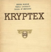 Image of S.S. White Dental Supply Catalog: Kryptex