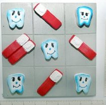 Image of Dental Tic-Tac-Toe Game