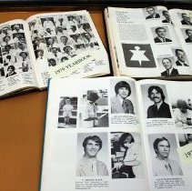 Image of FIC12.400.7 - Dental School Yearbook Case Display