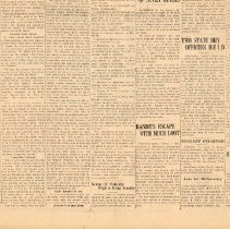 Image of Frank Willis Funeral article (bottom)