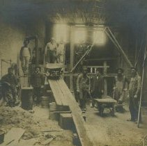 Image of Deposit Bank Vault at Hotel Donavin construction - about 1909