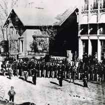 Image of 127th Ohio Volunteer Infantry regiment  - 1863