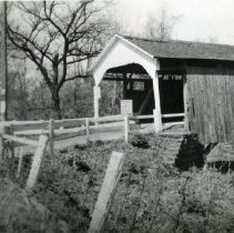 Image of Yankee Street Covered Bridge. - 1942