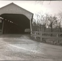 Image of Yankee Street Covered Bridge - 1940