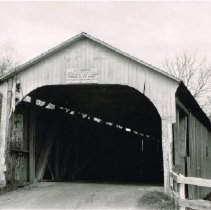 Image of Yankee Street Covered Bridge - 29 Apr 1928