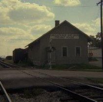 Image of Chesapeake and Ohio Railway freight depot