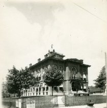 Image of Delaware County court house, 1884 - 1884