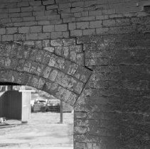 Image of Delaware Clay Company - Inside abandoned kiln                                                                                                                                                                                                              -